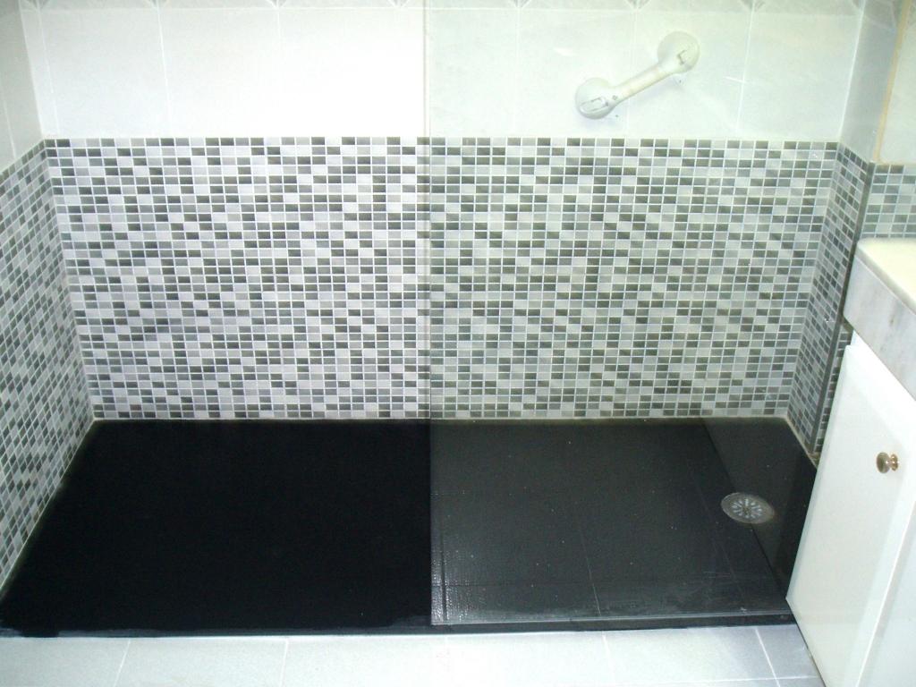 Cambio de ba era por ducha sin obras fontaner a y for Cambiar banera por ducha sin obras